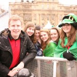 Patrick Kielty with Mevagh Vaughan and friends